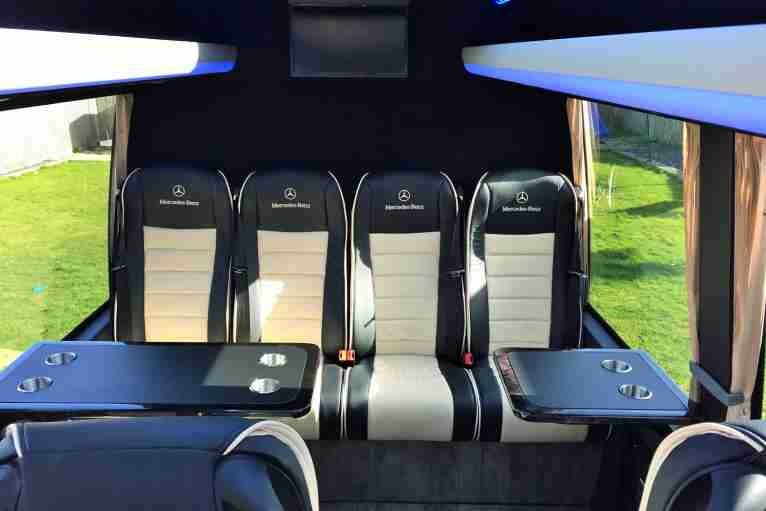 16 Seater VIP coach coach hire