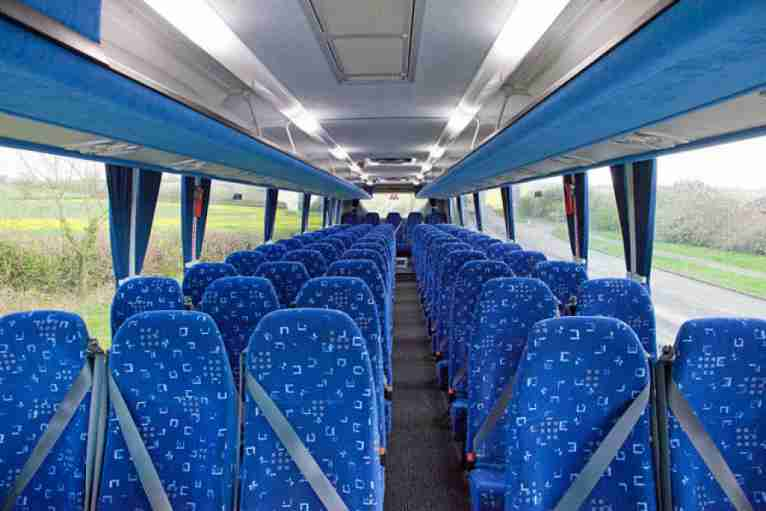 70 - 75 Seater Standard coach hire