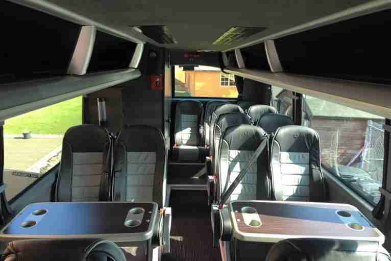 24 Seater VIP coach coach hire
