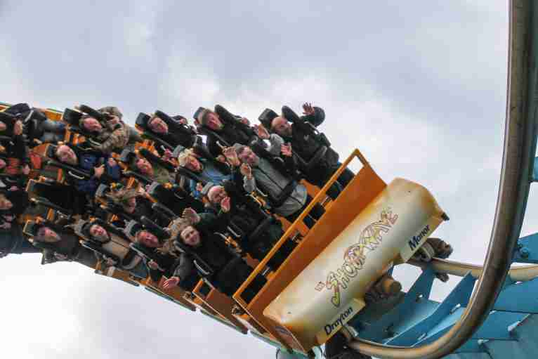 Drayton Manor Theme Park Coach Hire